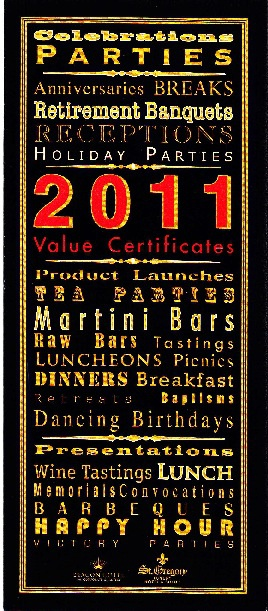Celebrations, Parties & Other Special Events