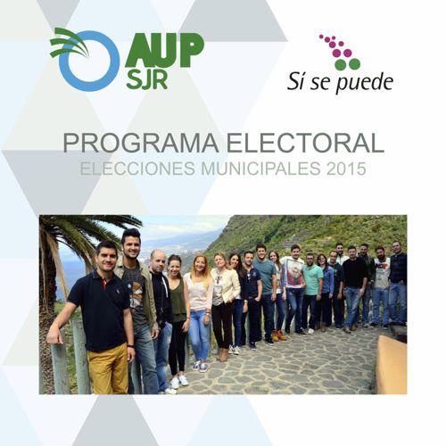 Programa Electoral AUP 2015