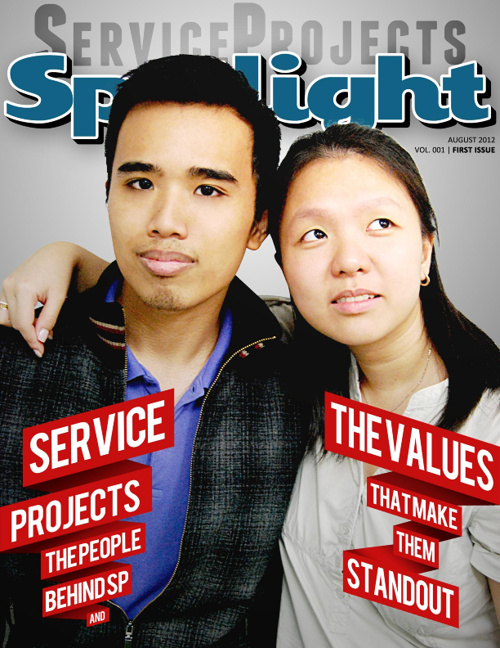 SPOTLIGHT - AUG 2012 (Service Projects)