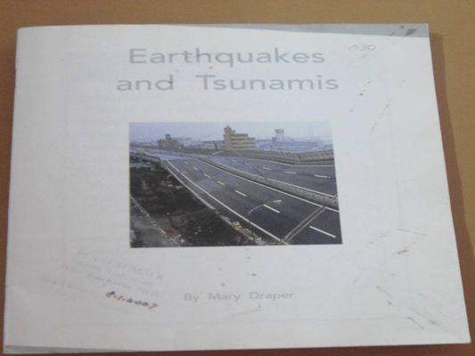 Earthquakes and Thunamis
