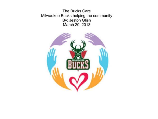 Milwaukee Bucks Human Interest Story - Jeston Glish 9th Hour