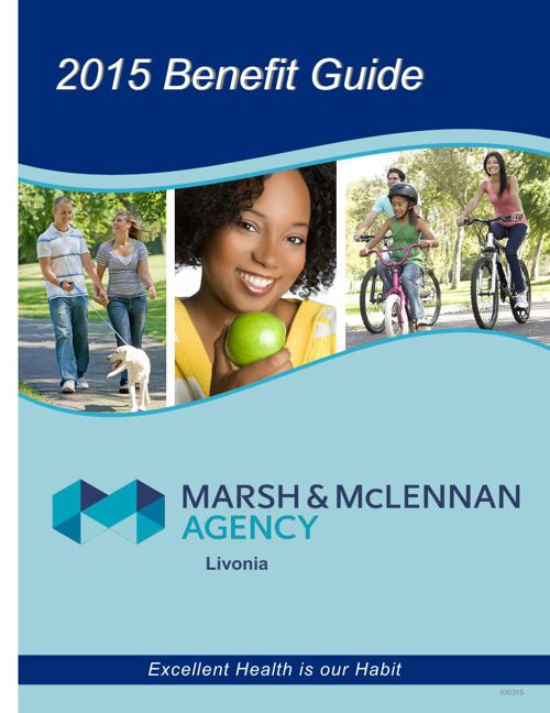 2015 MMA Livonia New Hire Benefit Guide