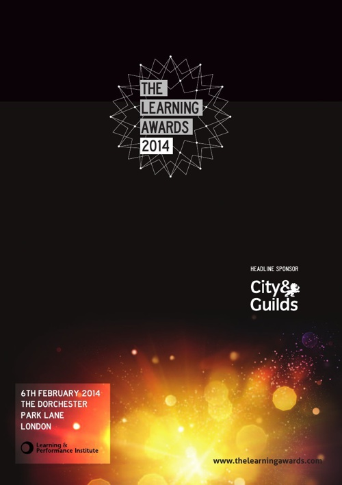 The Learning Awards 2014 Book of the Night