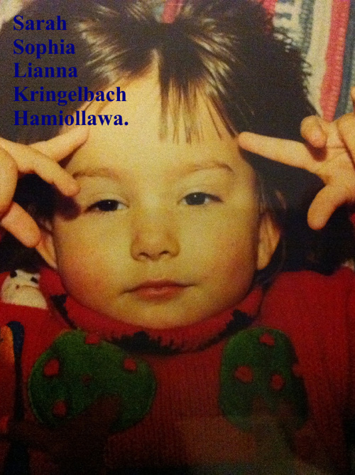 Sarah Sophia Lianna Kringelbach