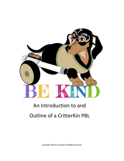 How to Teach Be Kind Project - Step 1