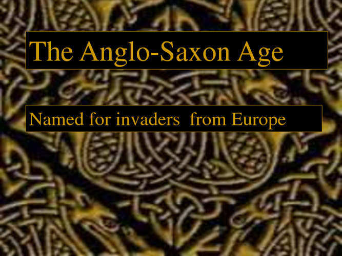 Anglo-Saxon unit