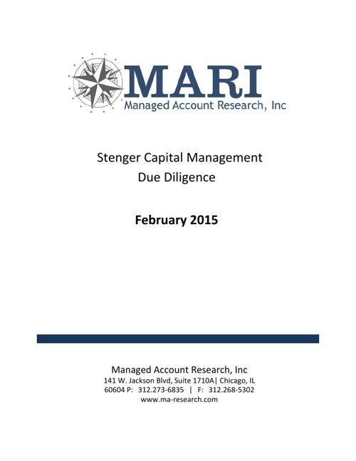 Stenger Due Diligence eBook Feb15