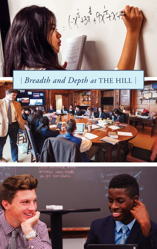 Breadth and Depth at The Hill