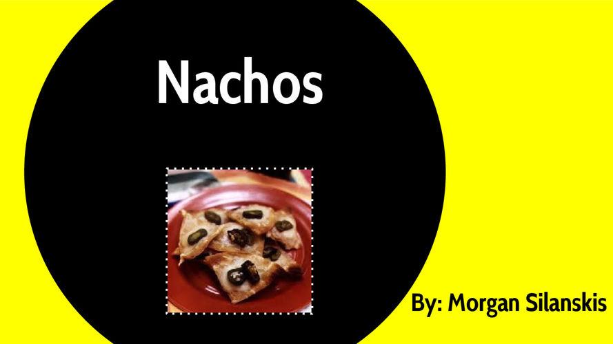 Nachos-Snack Food Presentation
