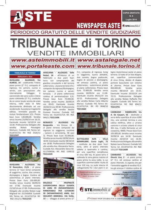 Torino luglio 2014
