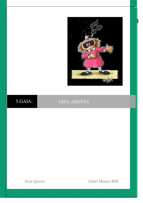 Giza ahotsa