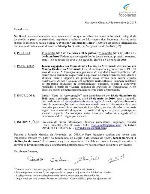 Carta EJMU-Mar.Ginetta