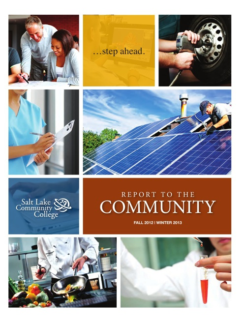 Copy of Salt Lake Community College - Report to the Community ma