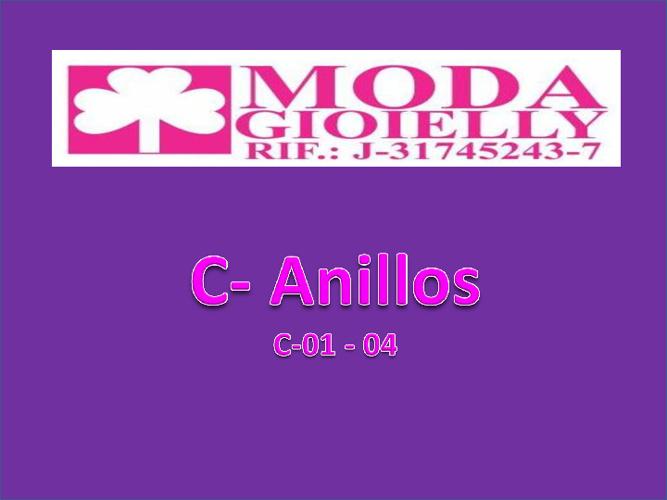 C - Anillos 01- 04