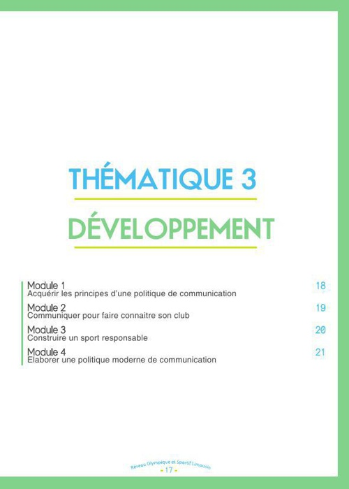 T3 Developpement