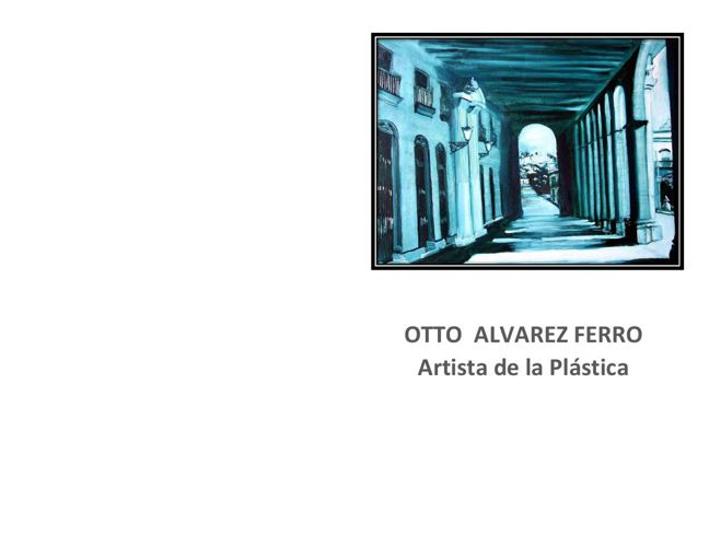 Otto Alvarez Ferro