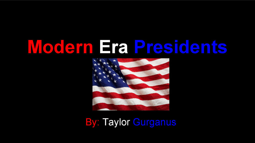 Modern Era Presidents