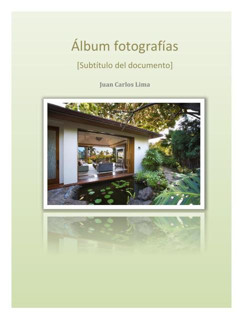 Álbum fotografías