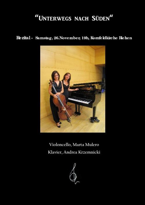 Rezital Basel. Duo Andrea Krzemnicki & Marta Mulero