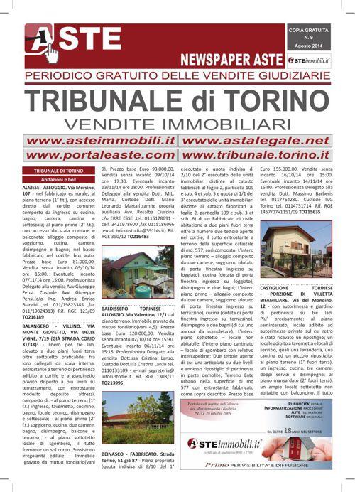 Torino agosto 2014