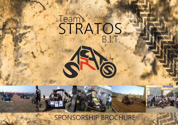 Team Stratos sponsorship booklet