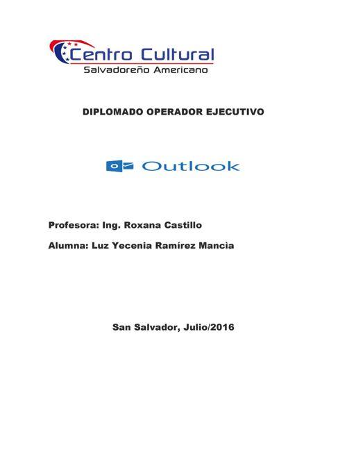 CONCEPTO DE OUTLOOK