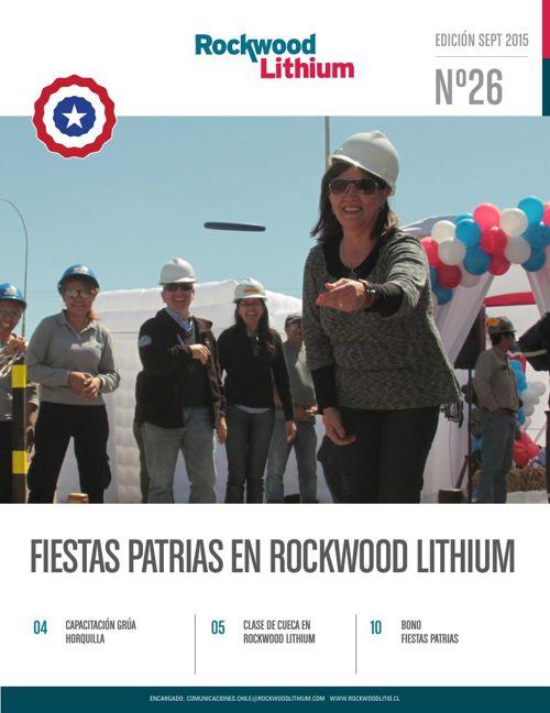 Revista Rockwood Lithium Septiembre 2015.