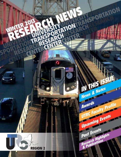 UTRC Winter 2013 Research News