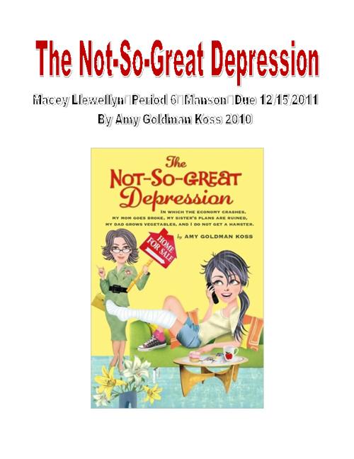 Depression Project