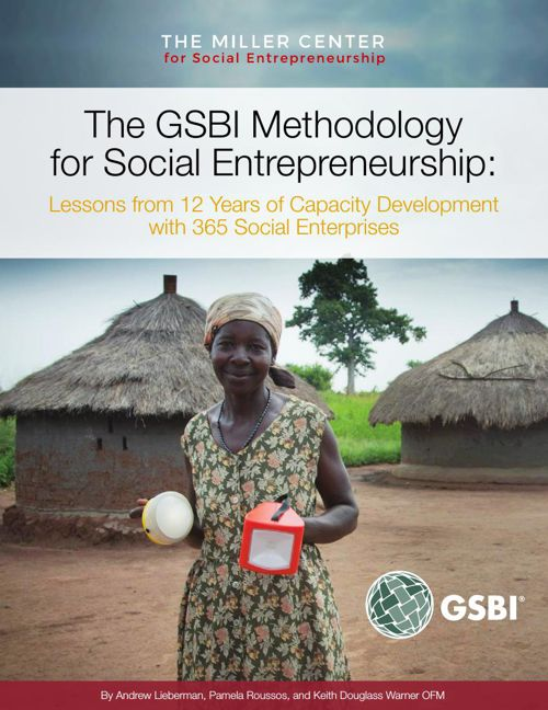 GSBI  Methodology for Social Entrepreneurship