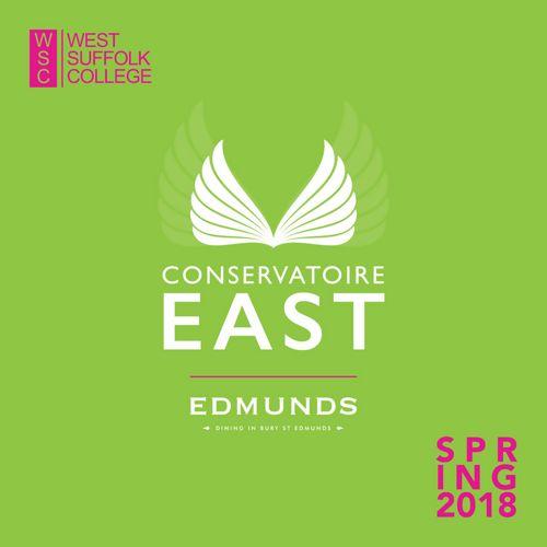 Conservatoire EAST Spring Brochure 2018