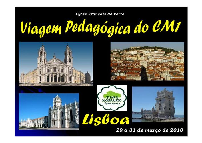 Viagem Pedagógica a Lisboa - CM1 B
