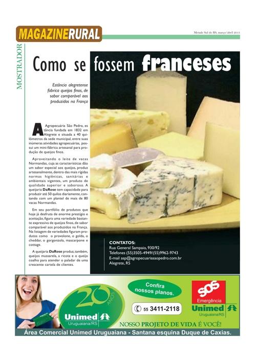 Magazine Rural - Março de 2013