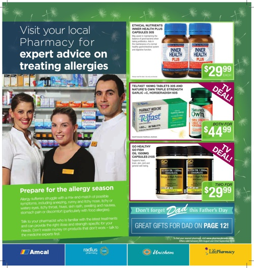 Pharmacybrands Catalogue September 2013