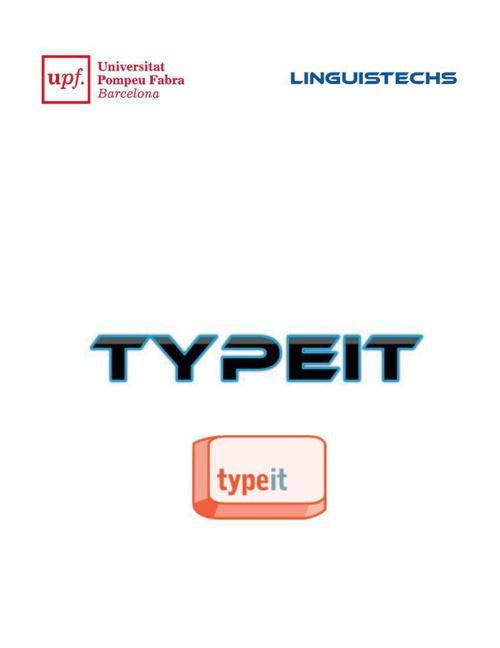 TypeIt - Romana
