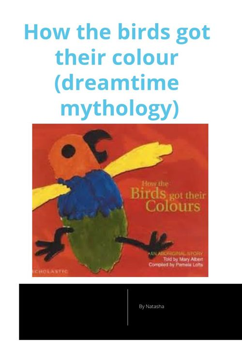 How  Birds Got There Colours