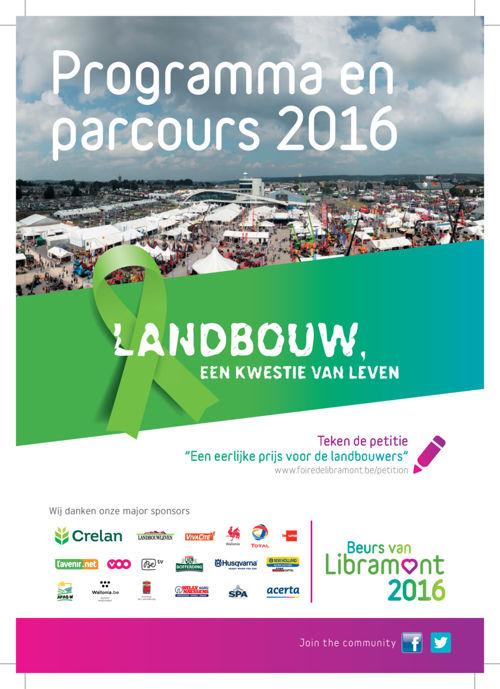 Foire de Libramont - Programma 2016