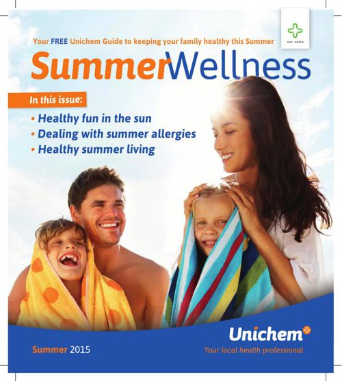 Unichem Summer Wellness Guide 2015/16