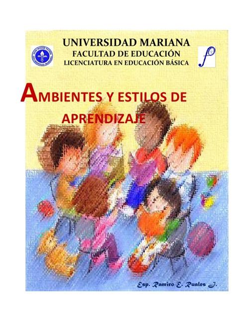 AMBIENTES Y ESTILOS DE APRENDIZAJE
