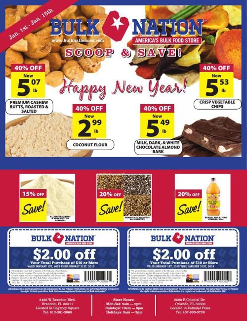 Bulk Nation January 2015 Flyer