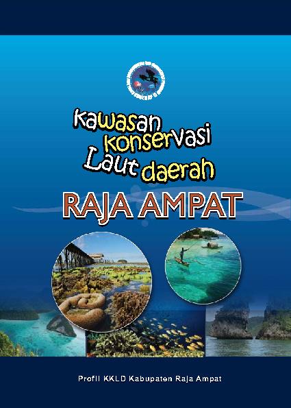 Booklet KKLD Raja Ampat