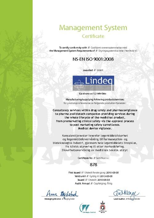 Lindeq ISO 9001