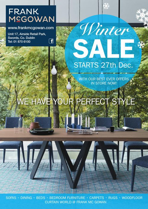 Franck Mc Gowan Winter Sale