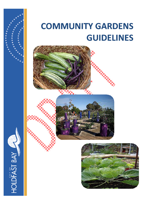 Community Gardens Guidelines