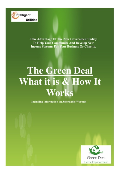 Green Deal Explanation