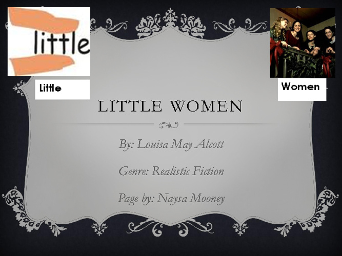 Little Women (: