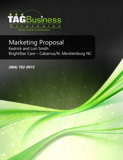Marketing Proposal Brightstar Care Cabarrus/N Mecklenburg NC