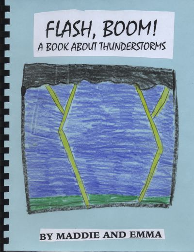 Flash, Boom! A Book About Thunderstorms
