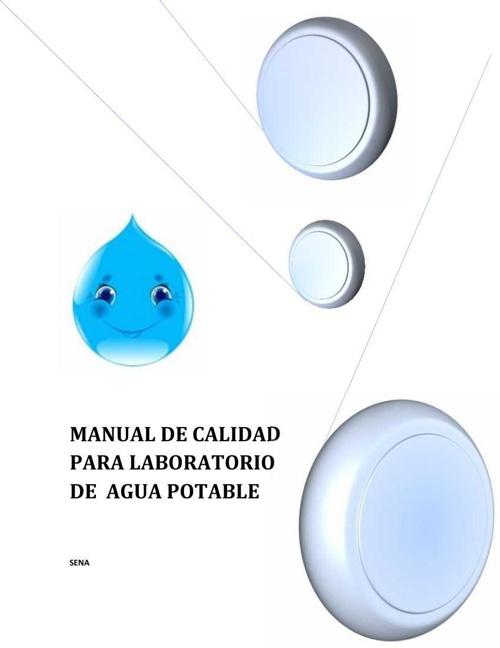 manual de calidad de agua potable