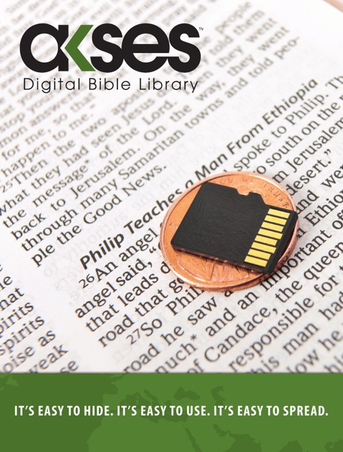 Akses Digital Bible Library Brochure - Bible League Internationa